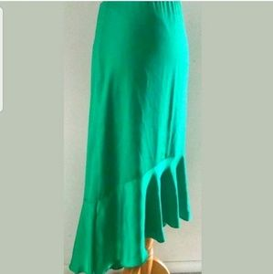 Ann Taylor high low mermaid skirt sz M 8